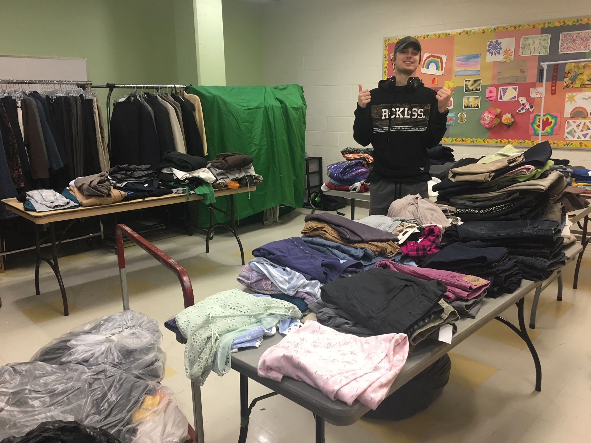 The Clothes Off Our Racks: How production professionals are improving the lives of those in need