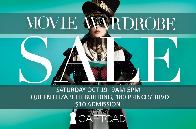 Volunteer during the Annual CAFTCAD Movie Sale for a Great Cause!